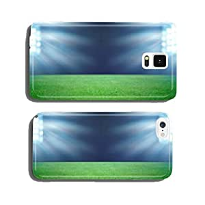 soccer field and the bright lights cell phone cover case iPhone5