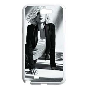 Celebrities Charming Scarlett Johansson Samsung Galaxy N2 7100 Cell Phone Case White phone component RT_369150