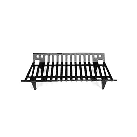 Woodeze 5VE-16-082 27 in. Cast Iron Grate (Cast Iron Fireplace Grate 27)
