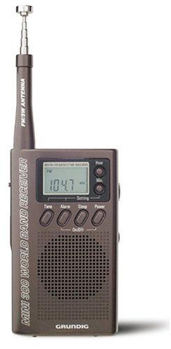 Grundig M300 Mini300 手持ちショートウェーブ ラジオ M300BR  Metalic Bronze B0002AHS4O