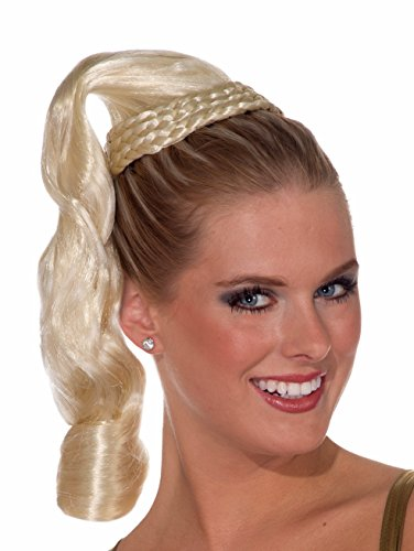 Aphrodite Wig (Forum Novelties Women's Goddess Ponytail Hair Piece, Blonde, One Size)
