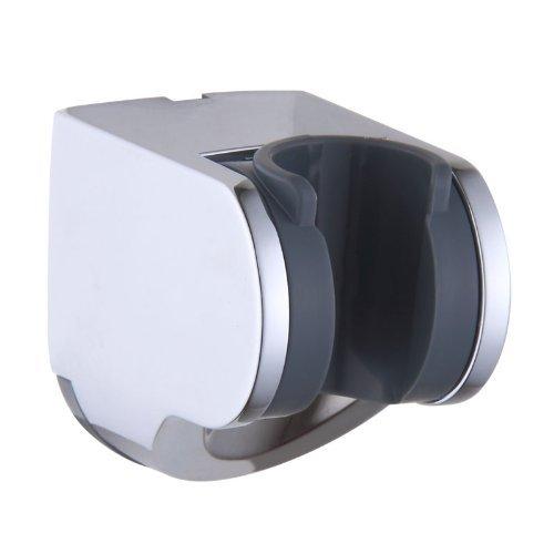 KES C200 Bathroom ABS Handheld Showerhead Adjustable Bracket Holder Wall Mount, Polished Chrome