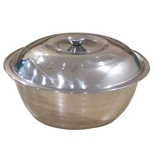 Shivom Stainless Steel Serving Bowl Set, Standard, Silver