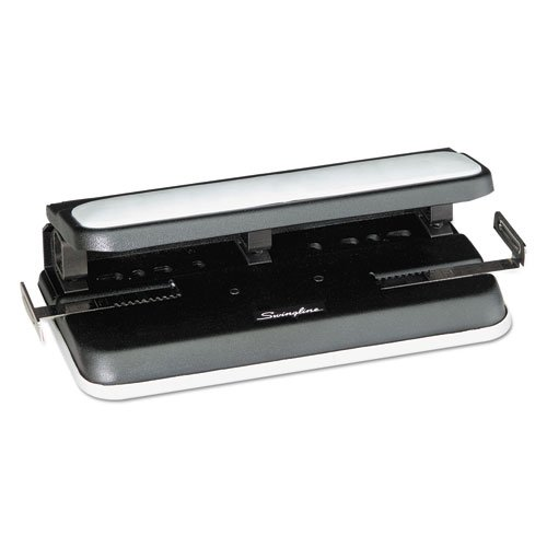 32-Sheet Easy Touch Three- to Seven-Hole Punch, 9/32