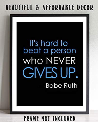 (Babe Ruth Quotes-