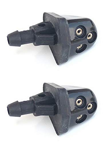 PAIR Windshield Washer Wiper Water Jet Nozzle: