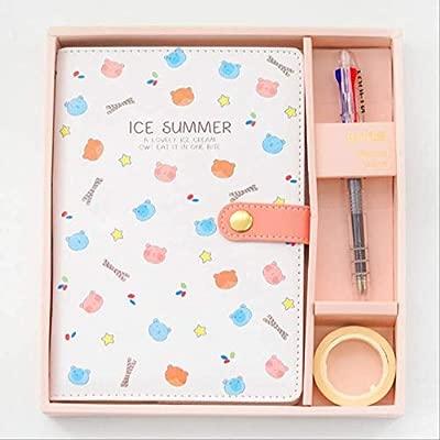 QWSAE notebooklindo papelería pequeño libro de mano fresco ...