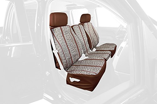 Saddleman Rear Custom Fit Seat Cover for Select Jeep Patr...