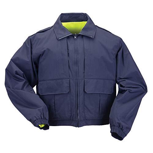 5.11 Tactical #48095 Reversible High Vis Duty Jacket (Dark Navy, XX-Large) ()