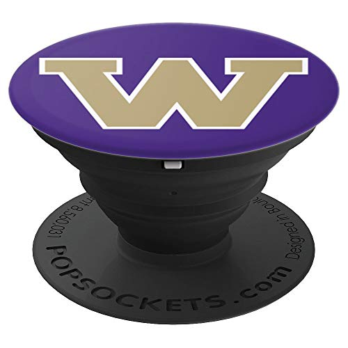 - PopSockets: Letter W Washington State Fan Pride Gift - PopSockets Grip and Stand for Phones and Tablets