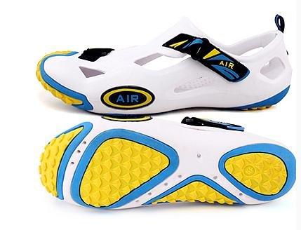 JiZhi sandali degli uomini / scarpe da spiaggia / estate / cava scarpe / set di piedi / anti-skid / traspirante / esterno / casual / a piedi , 4# , 39