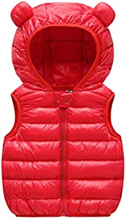 WYTbaby Baby Down Vest Kids Padded Gilet Lightweight Bodywarmer Puffer Jacket Quilted Coat