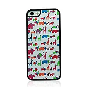 JJE Animal Pattern Hard Case for iPhone 5/5S
