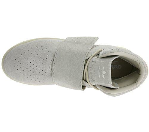 adidas Tubular Invader Strap - Zapatillas Unisex adulto Marrón / Blanco
