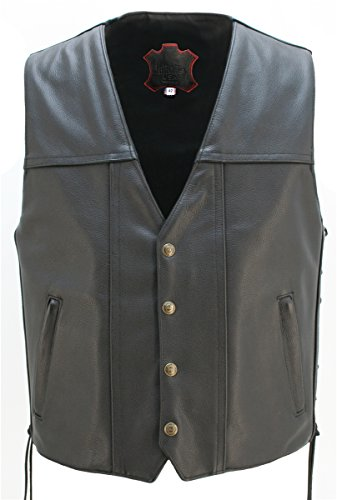 Length Motorcycle Vest - 4