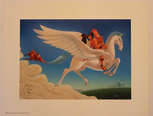 Disney Lithograph Art Print 11
