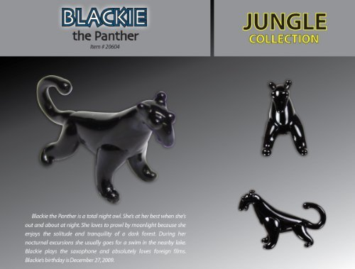 Looking Glass Blackie the - Panther Glasses