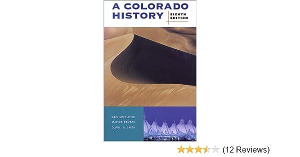 A Colorado History 10th Edition The Pruett Series Susan