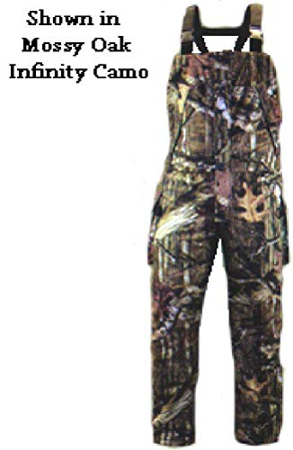 Rivers West Apparel 2780-RAX-L Mens Ambush Hunting Bibs Realtree Xtra Camo Large (Overalls For Hunting)