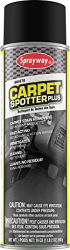 Sprayway SW676 Aerosol Carpet Spotter Plus, 18 oz
