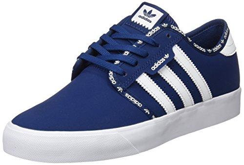 adidas SEELEY J - Zapatillas deportivas para Niño, Azul - (AZUMIS/AZUMIS/FTWBLA) 39 1/3