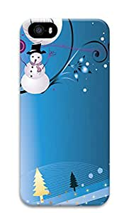 iPhone 5s Cases & Covers - Christmas Melody PC Custom Soft Case Cover Protector for iPhone 5s