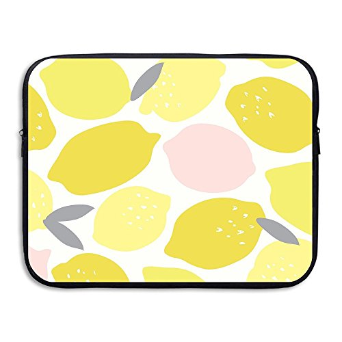 CHERINA RHEA Computer Bag Laptop Case Sleeve Bag Lemon Pattern Waterproof 13-15 Inch For IPad Air Macbook Pro Surface Book Notebook Ultrabook