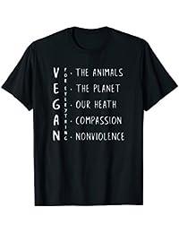 Vegan For Everything Vegan Activism Tee Vegan T-Shirt