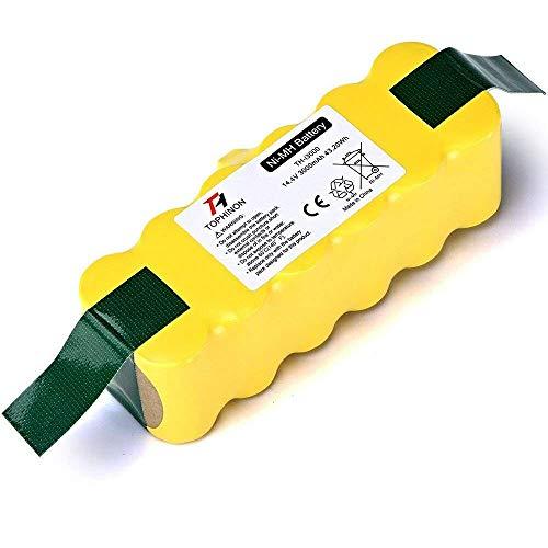 TOPHINON 3000mAh 14.4V Ni-MH Battery for iRobot Roomba 500 510 520 530 532 535 540 545 550 552 555 560 562 570 580 581 582 585 595 600 610 620 630 631 650 660 700 760 770 780 790 800 870 880 R3
