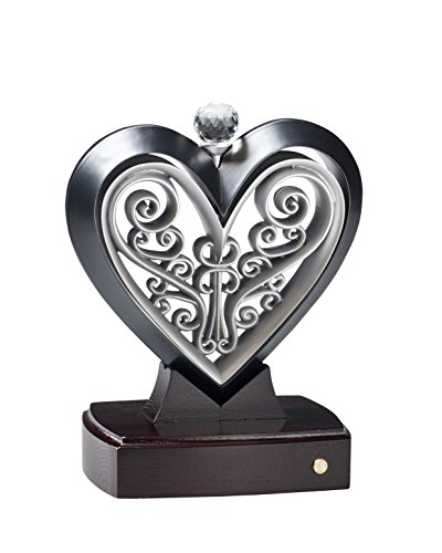 Unity Heart Black and Pewter by The Unity Cross