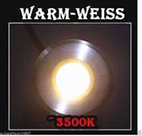 Dig Light LED Under Cabinet Lighting Kit, Mini Ceiling Lights, Under Counter Lighting, 6000K Daylight White, Power Supply Included, Kitchen Lighting Set of 10 (warm white)