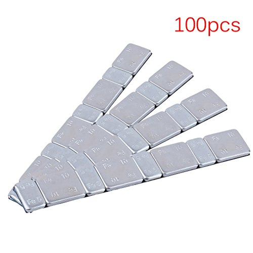 PANG Assorted Self Adhesive Wheel Balance Weights 60 GRAMME STRIPS Pack Of 25