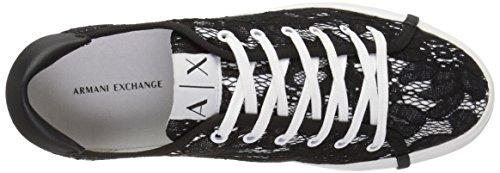 Lace Black Exchange Exchange Womens Armani Lace A Armani Armani Exchange X Sneaker Sneaker qxXYS7SEw