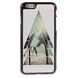 Hawal Surf Life Design Aluminum Hard Case for iPhone 6