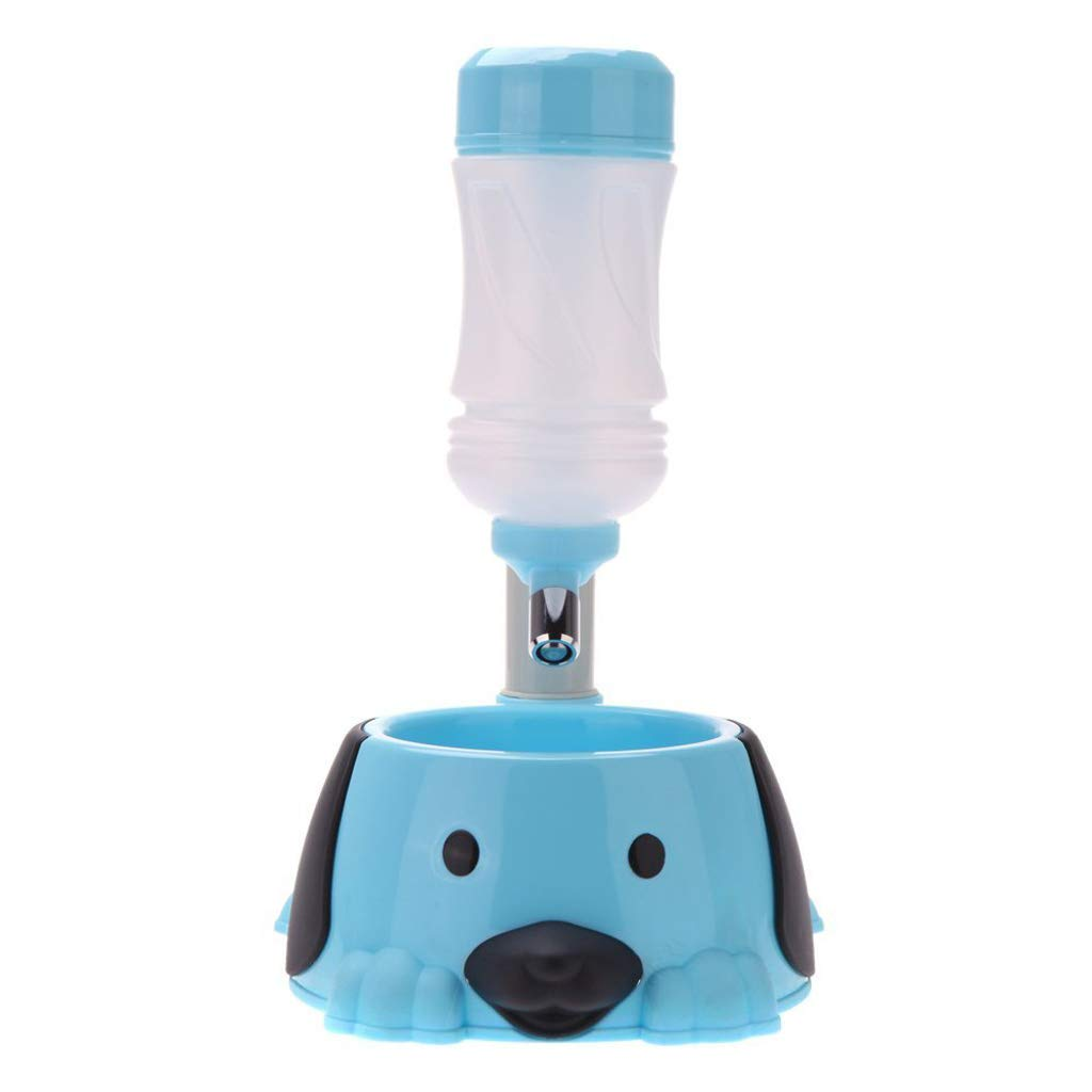A Pet Holder Water Dispenser Water Dispenser Water Dog Dog Drinking Fountain Adjustable Height Ravity Aterer (color   A)