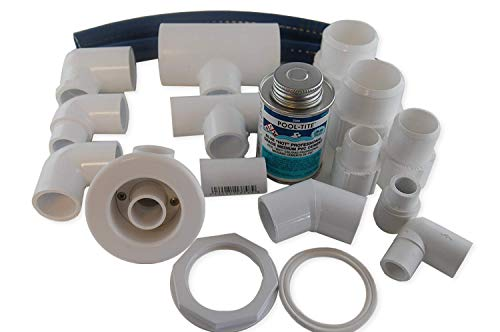Jacuzzi BMH repair kit with flex glue oyster HC119969 with dvd tutorial (Jet Bathtub For Whirlpool)