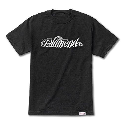 Giant Script Tee - Diamond Supply Co Giant Script T-Shirt Black[L]