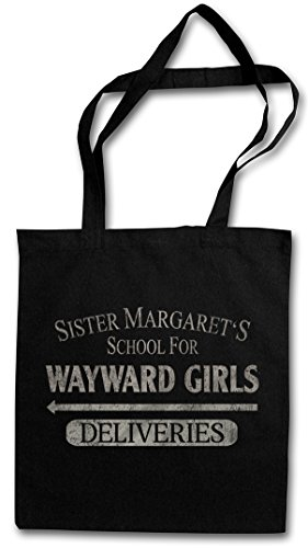 WAYWARD SCHOOL Reusable FOR Shopper Hipster Shopping MARGATE'S Bag GIRLS SISTER Cotton UxS6qtTRwA