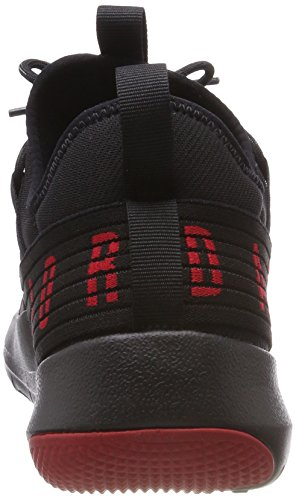 Nike Jordan Trainer Pro, Scarpe da Basket Uomo Nero (Black Gym Red Gym Red 001)
