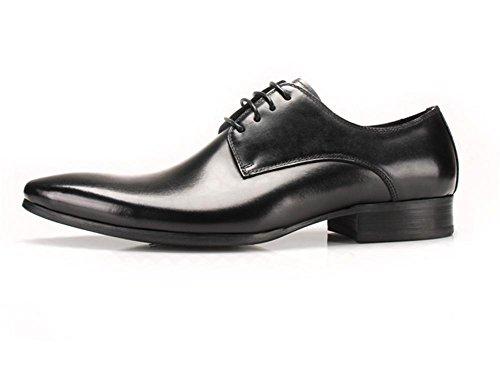 Herbst Herren Business Fashion Schuhe Casual britische Winter wies Wind Casual black BqUqx5