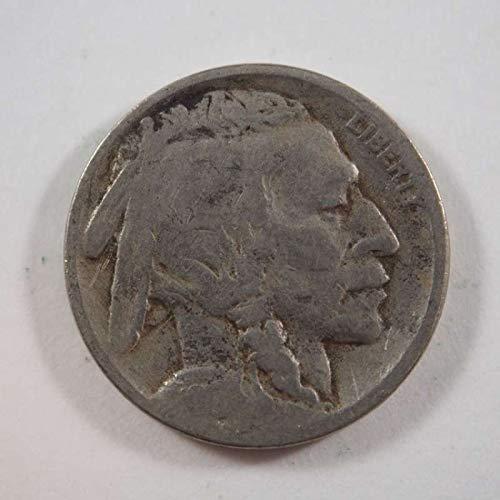 1917 P Buffalo Nickel Nickels Ungraded