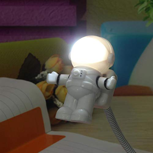 1 Pack Mini Reading Lamp LED Night Light Spaceman Astronaut Christmas Lights Boys Master Fashionable Unicorn Star Bulbs Wall Room Lamps Indoor Outdoor Holiday Decorative