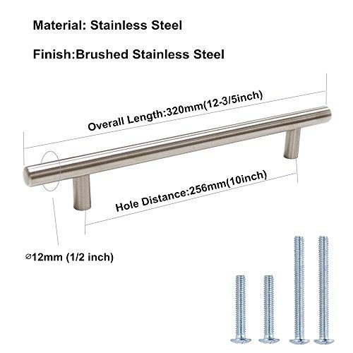 Buy cabinet bar pulls brushed nickel