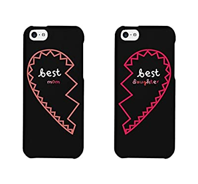 Mom and Daughter Matching Hearts Cell Phone Cases for iphone 4, iphone 5, iphone 5C, iphone 6, iphone 6 plus, Galaxy S3, Galaxy S4, Galaxy S5, HTC One M8, LG G3