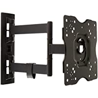 AmazonBasics Heavy-Duty, Full Motion Articulating TV Wall Mount 22-inch to 55-inch LED, LCD, Flat Screen TVs