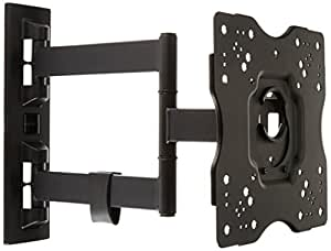AmazonBasics Heavy-Duty, Full Motion Articulating TV Wall Mount for 22-inch to 55-inch LED, LCD, Flat Screen TVs