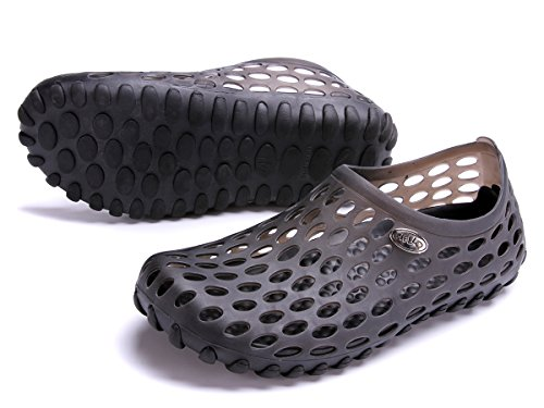 clapzovr Mens Sandals Shower Water Shoes Beach Swim Pool River Shoes Comfort Garden Clogs