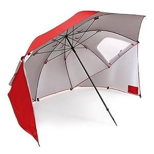 Sport-Brella BRE01-050-02 Portable All-Weather and Sun Umbrella. 8-Foot Canopy