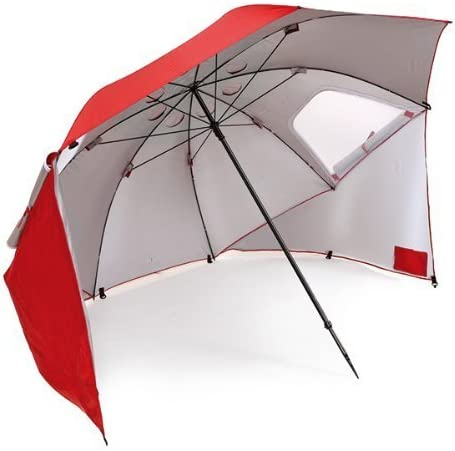 Sport-Brella Vented SPF 50+ Sun and Rain Canopy Umbrella for Beach and Sports Events (8-Foot)