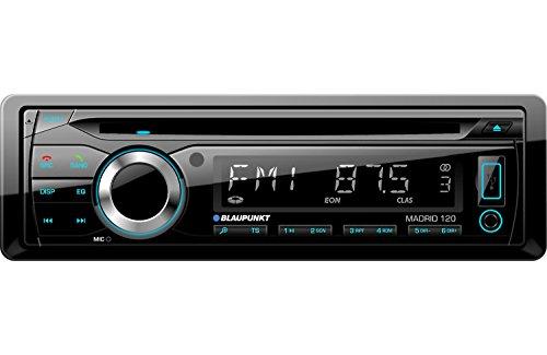 Blaupunkt Madrid 120BT MP3/USB/AUX/CD/SD/BT Car Media Player (Single Din)